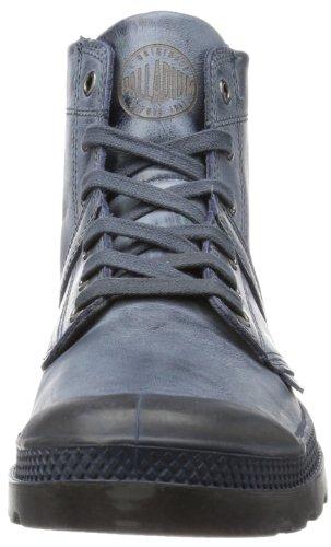 Palladium Pallabrouse Lea 2, Chaussures bateau homme Bleu - Blau (Navy/Metal/Tan)