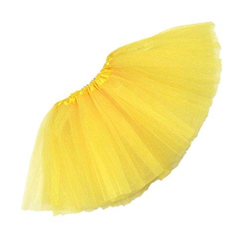 viskey-girls-ballet-skirts-tutu-chiffon-fairy-dressyellow