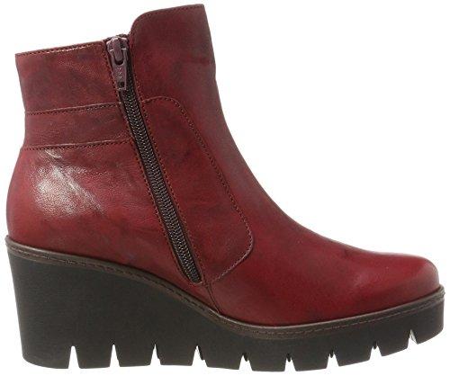 Gabor Damen Jollys Stiefel Rot (55 dark-red)