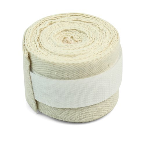 RHX - RHX Un Par Beige elásticas boxeo Mano Envolturas Vendas 100 % algodón de alta calidad de Nueva