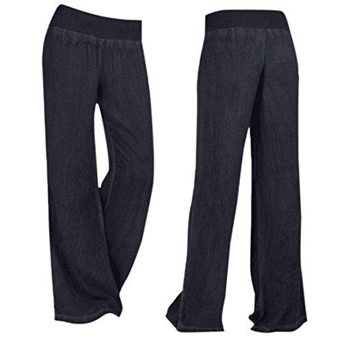 Pantaloni tuta da donna a gamba larga con