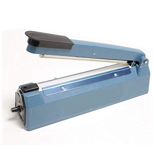 PrimeMatik - Selladora térmica para cierre de bolsas de plástico por calor de 30cm