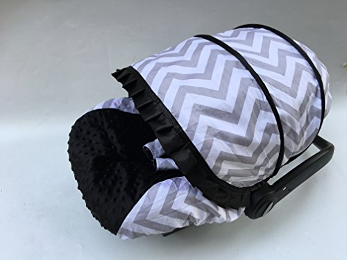 Infant carseat Canopy Cover 3PC Conjunto Caboodle Kit, cubierta de asiento de coche de bebé de algodón c030600