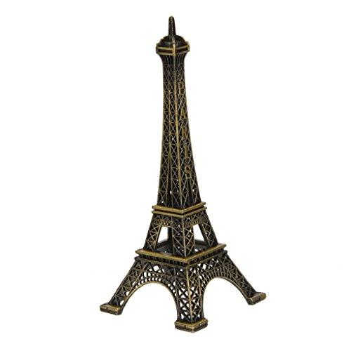 13 Centimetri Torre Eiffel Arredamento Metallo Miniatura Micro Paesaggio Bonsai Casa Delle Bambole