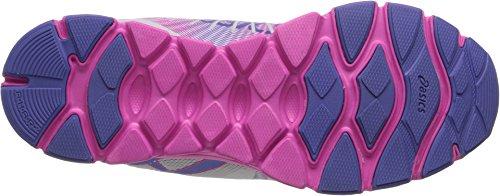 Asics Gel-Havoc 2 Synthétique Chaussure de Course White-Lavender-Hot Pink