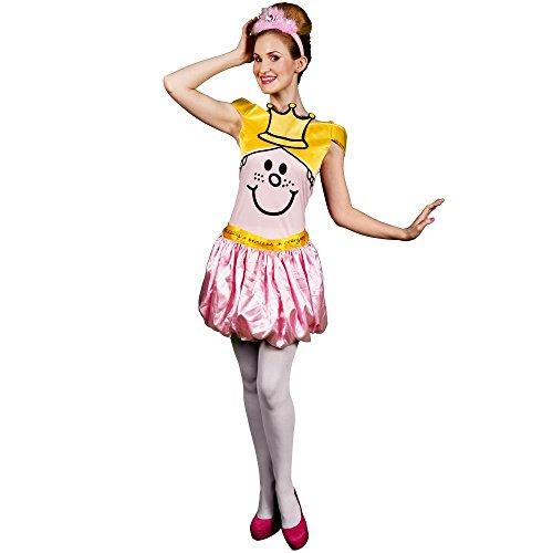 Morph Kostüm Co by Morphsuits Offizielles Lizenzprodukt Little Miss Princess Kostüm (L)