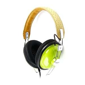 Panasonic RP-HTX7AE-G Retro Style Monitor Headphones - Green
