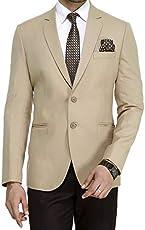 ManQ Men's Slim Fit Formal/Party Men's Blazer