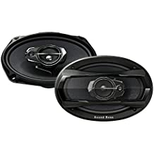 Sound Boss Performance Auditor SB-6979 6x9 3-Way 480W Co-Axial Car Speakers
