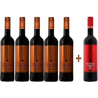 5 + 1 Aktion: 5x Rosso Nobile al Cioccolata und 1x Rosso Nobile alla Nocciola GRATIS (6 x 0,75L)