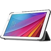 Huawei MediaPad T1 10-Inch Case - IVSO Slim Smart Cover Case for Huawei MediaPad T1 10-Inch Tablet (Black), [Importado de UK]