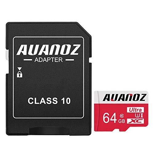 Auanoz Tarjeta De Memoria TF Ultra Class 10 UHS-I