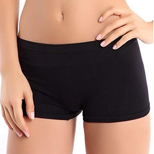 Frauen Shorts,Schwarzes Nylon Frauen Sommer Farbe Shorts Training Bund Dünne Hohe Taille Shorts Gummizug - Frauen Nylon Shorts
