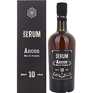 Premium brown rum from Panama, aged for 10 years in oak barrels, 700ml. - SERUM Ancon 10 Jahre, 40% vol.