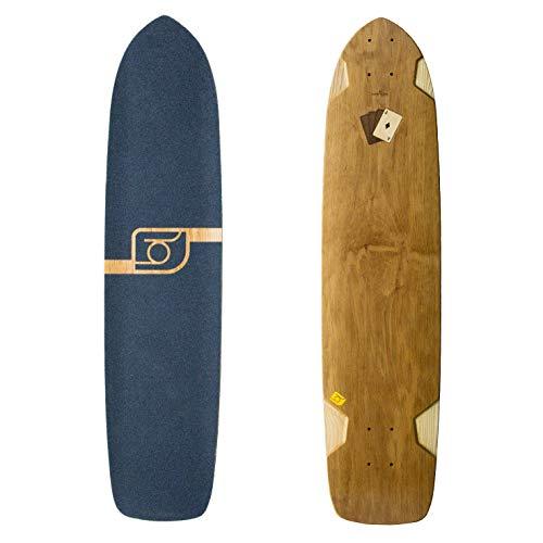 Bareknuckle Longboard Deck Nerd Fullhouse Fullshape 93,3cm