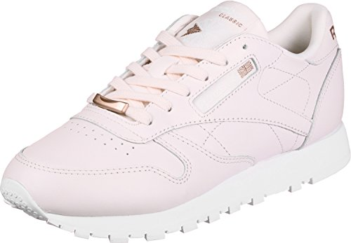 676cc7b0ee720 Reebok Classic Leather CL LTHR HW, Pale Pink-Rose Gold-White, 5,5 - Buy  Online in KSA. Misc. products in Saudi Arabia. See Prices, Reviews and Free  Delivery ...