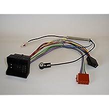 G.M. Production–Kit C/P ISO–Kit Cable Adaptador Cableado y antena Radio RD4Blaupunkt VDO con Quadlock de ISO para Citroen Peugeot Fiat Comprobar fotos y detalles de compatibilidad]