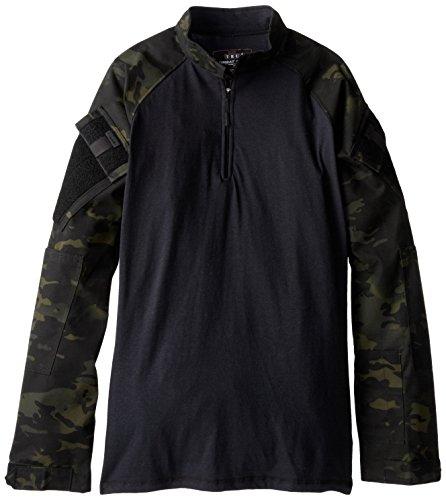 TRU-Spec Combat Shirt UBACS 1/4 Zip - MultiCam Black - Größe wählbar