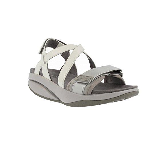 MBT Physiological Footwear 700953-1190N Chantel Woman - Silver/White - Sandali Sportivi Donna - Casual (42)