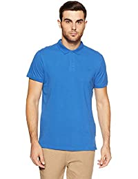 Jack & Jones Men's Solid Slim Fit Polo