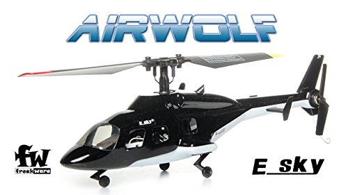 Esky RC Helikopter F150 V2 Mini Helikopter Airwolf - RTF Mode2 Hubschrauber