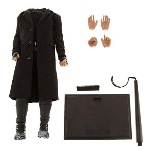 1/6 Skala Männlichen Körper Figur Kleidungssatz Mit Extra Hände - Outfit 4