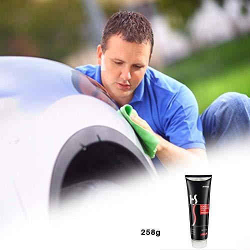 QueenHome Auto-Kratzer-Reparaturwachs Mit 258G Kratzer Entfernen Lack-Körperpflege Ungiftiges Auto-Kratzer-Reparaturwachs Mit Auto-Kratzer-Entferner-Körpermasse