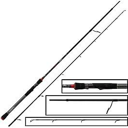 WYFDM Fox Rage Prism Power Spin Rod 240cm 15–50g–Spin Canne à pêche à jiggen & Farniente, jigrute à pêche sur Hecht & Zander