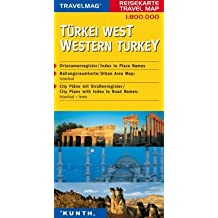 Reisekarte : Türkei West