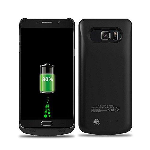 TopYart Galaxy S6Edge Plus Custodia Caricatore Esterno di Batteria per Samsung Galaxy S6Edge Plus-[4200mAh] S6Edge Plus Ultra Slim Portatile Ricaricabile Caricabatterie Case Power Bank Case