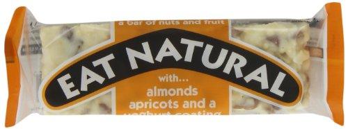 Mandeln Aprikosen (Eat Natural Nuss und Fruchtriegel, Mandel und Aprikose, 12er Pack (12 x 50 g))