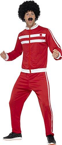 Smiffy's 45521XL - Herren Scouser Trainingsanzug, Jacke und Hose, Größe: XL, mehrfarbig