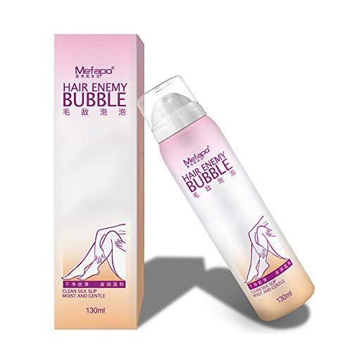 About1988 Mousse Spray Haarentfernung Creme, Unisex No Damage No Pain Antiallergische Mousse Spray Foam Cream für Körper Unterarm Beine Bikini Area Haut.