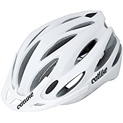Catlike Neko - Casco de ciclismo, color blanco brillo, talla MT (54-58 cm)