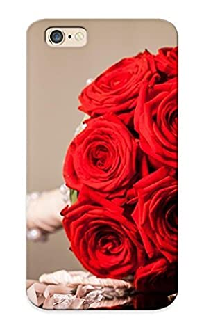 Summerlemond 89cadea5259 Case For Iphone 6 With Nice Flowers Red Rings Roses Bouquet Appearance