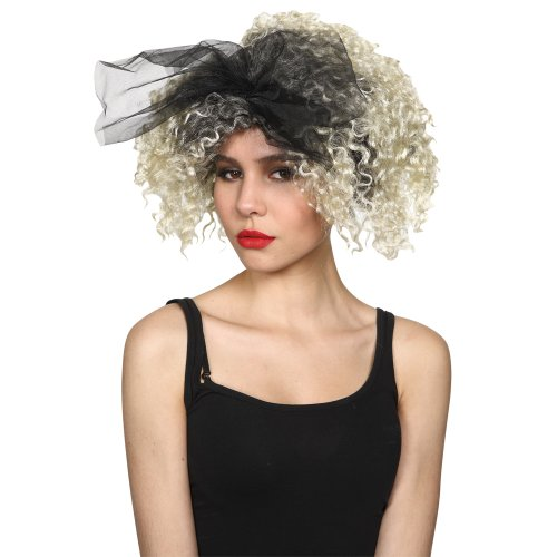80's Material Girl Wig Accessory for Fancy Dress