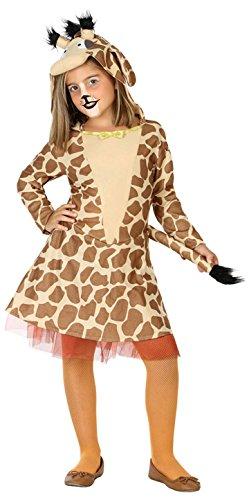 ATOSA 39409 Giraffe, Mädchen, mehrfarbig, 140 (Chips Kostüm)