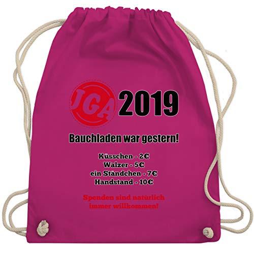 War Kostüm Das Einfach - JGA Junggesellenabschied - Bauchladen war gestern! 2019 - Unisize - Fuchsia - WM110 - Turnbeutel & Gym Bag