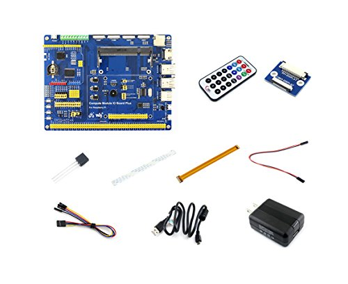 Waveshare-Raspberry-pi-Compute-Module-3-Accessory-Pack-Kts-Type-A-with-Compute-Module-3-IO-BoardDS18B20-and-IR-Remote-Controller