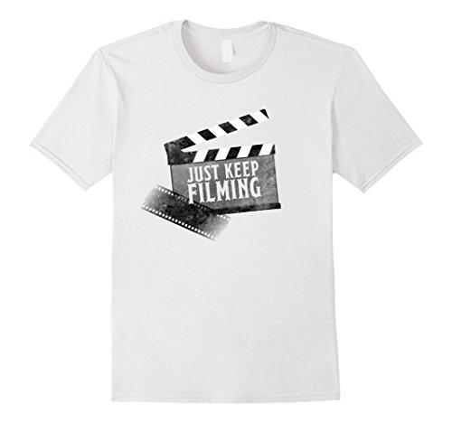 mens-just-keep-filming-filmmaker-cameraman-director-vlog-shirt-xl-white