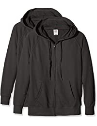 Fruit of the Loom Ladies Lightweight Hooded Jacket, Sweat-Shirt Femme