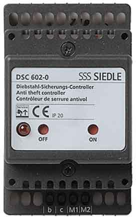 Preisvergleich Produktbild Siedle Zubehör Diebstahlschutz Controller Einbau DSC 602-0, 2543095