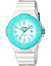 Casio Collection – Reloj Mujer Analógico con Correa de Resina – LRW-200H-2BVEF
