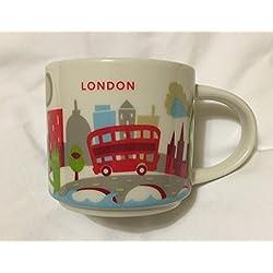 Taza de Londres, de la marca Starbucks