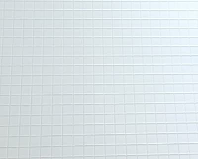 Dolls House Miniature 1:12 1:24 Scale Kitchen Bathroom Flooring White Tile Sheet - low-cost UK light shop.
