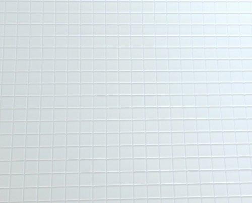Puppenhaus Miniatur 1:12 1:24 Maßstab Küche Bad Bodenbelag weiß fliesen-blatt (Miniatur-fliesen)