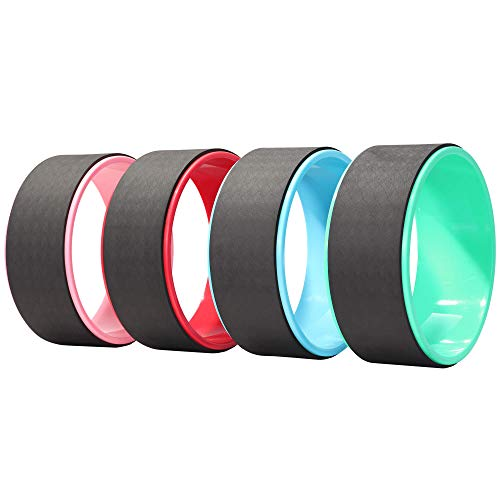 GORILLA SPORTS® Yoga Rad 32,5 x 13 x 2 cm – Yoga-Wheel für Yoga, Pilates und Gymnastik in 4 verschiedenen Farben