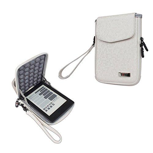 """Sleeve für Kindle Paperwhite Light Weight EVA Sleeve Hülle-Tragbare Filz Schutzhülle Tasche für alle Amazon Kindle & Kindle Paperwhite Voyage oder 6"""" Tablet,Weiß"""