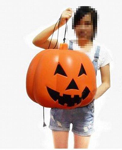 Halloween Kürbis Licht Leuchtet aus Horror Sound Ausrüstung Batterie Ton Kürbis Licht Bar und Ktv Liefert,Plug-in Version des (Kürbis König Kostüm)