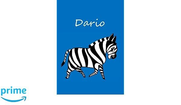 Arthur: Zebra A4 blanko individualisiertes Malbuch // Notizbuch // Tagebuch